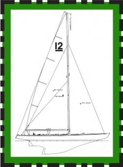 12mR Yacht