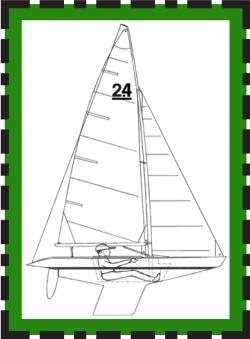 2.4mR yacht
