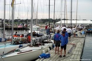 6mRs on the docks at Sail Newport