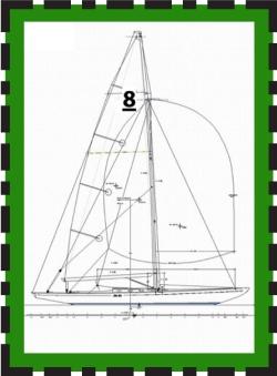 8mR Yacht