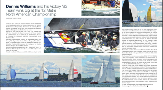 12mRs in Yachting Times