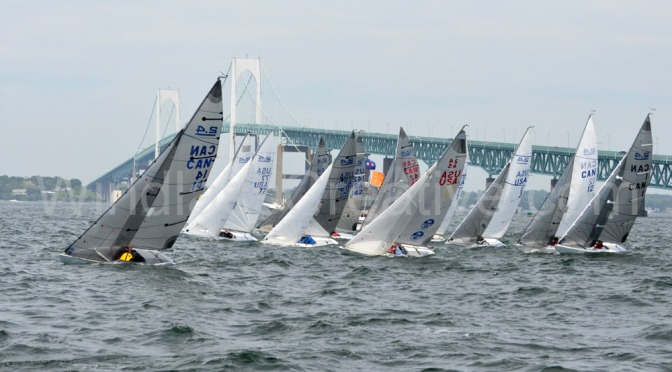 The fleet of 2.4mRs, 17 strong was just one measure of success for METREFEST NEWPORT 2017.