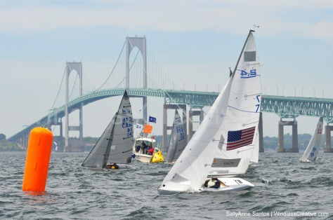 Dee Smith, in US-7 sailed a perfect regatta at NEWPORT METREFEST 2017!